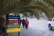 Entrando a la Quebrada de San Lorenzo