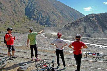 Mountainbike en la Quebrada del Toro