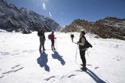 Trekking Torreón con nieve